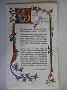 Carte Souvenir De Communion , Notre Dame La Dorade Toulouse 1967 - Religion & Esotericism