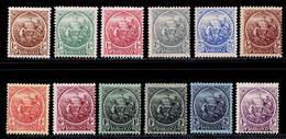 Barbados 1921-1924 MH Set SG 213/228 Cat £95 - Barbados (...-1966)
