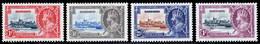 Barbados 1935 Silver Jubilee MH Set SG 241/244 Cat £30 - Barbados (...-1966)