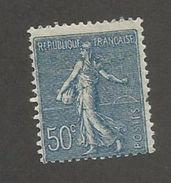 FRANCE - N°YT 161 NEUF* AVEC CHARNIERE - COTE YT : 30€ - 1921/22 - 1903-60 Semeuse Lignée