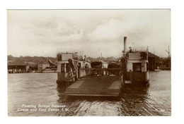 ANGLETERRE - COWES Floating Bridge, Carte Photo - Cowes