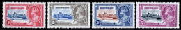 Basutoland 1935 Silver Jubilee MNH/MH Set SG 11/14 Cat £9 - Basutoland (1933-1966)