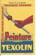 BUVARD Publicité PEINTURE TEXOLIN - Paints