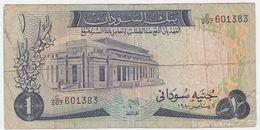 Sudan P 13 C - 1 Pound 1980 - Fine - Sudan