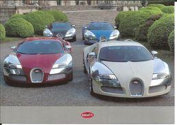 4 Voitures Bugatti Veyron - Photographie Devant La Villa D'Este (Italie) - Turismo