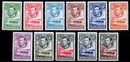 Bechuanaland 1938 MNH Set SG 118/128 Cat £110 - Bechuanaland (...-1966)