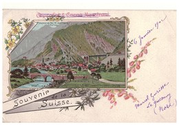 SUISSE . SOUVENIR DE LA SUISSE - Réf. N°4845 - - Switzerland