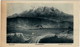 ECUADOR - CHIMBORAZO - 1924 - Vedi Retro - Formato Piccolo - Ecuador