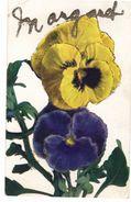 "Name Postcard, ""MARGARET"" In Glitter,  Pre-1920 Postcard - Cartes Postales"
