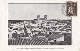 PORTUGAL - CALDAS Da RAINHA. Campo Maior ( Vista Parcial ) Tirada Do Castelo - Portugal