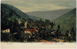 ECUADOR - AIREDEDORES DE QUITO - Vista De Guápulo - Vedi Retro - Formato Piccolo - Ecuador