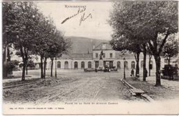 REMIREMONT - Place De La Gare Et Avenue Carnot ...(100803) - Remiremont