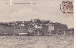 MALTA - Marsamuscetto Landing Stage - Malta