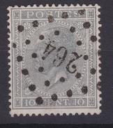 N° 17   LP  264  NAMUR - 1865-1866 Linksprofil