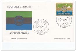Gabon 1970, Envelope Conference De L'U.A.M.P.T. - Gabon (1960-...)