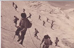 MILITARIA---manoeuvres En Haute Montagne--( Sortie Carnet )---voir 2 Scans - Manoeuvres