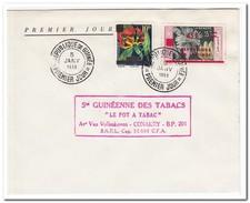 Republiek Guinea 1959, Envelope MI 1-2, Tobacco - Guinee (1958-...)