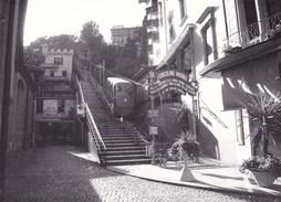 LUGANO - CANTON TICINO - SVIZZERA - FUNICOLARE ANGIOLI ANNO 1978 - Lieux