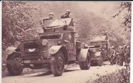MILITARIA---autos Mitrailleuses De Cavalerie--( Sortie Carnet )---voir 2 Scans - Manoeuvres