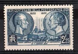 France - 1939 - N° 427 - Neuf ** - Centenaire De La Photographie - France