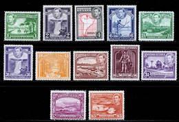 British Guiana 1938-1952 MH Set SG 308/319 Cat £110 - Britisch-Guayana (...-1966)