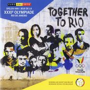 Belgium Euro Coins Set 2016 FDC - Summer Olympics Rio De Janeiro - Team Belgium 2016 - Belgique