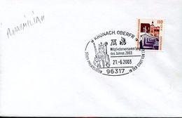 27711 Germany, Special Postmark 2003 Kronach, Albrecht Durer - Arts