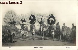 MASAI DANCE MAASAI SCENE TRIBU ETHNIE ETHNOLOGIE KENYA TYPE AFRIQUE - Kenia