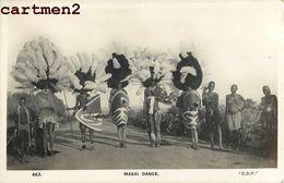 MASAI DANCE MAASAI SCENE TRIBU ETHNIE ETHNOLOGIE KENYA TYPE AFRIQUE - Kenya