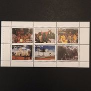 Ghana 2000 Tourism Booklet Pane  POSTAGE TO BE ADDED ON ALL ITEMS - Ghana (1957-...)