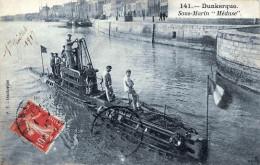 (59) Dunkerque - Sous Marin Méduse 1917 - Dunkerque