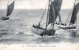 (59) Dunkerque - Bateaux Pêchant La Crevette 1917 - Dunkerque