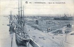 (59) Dunkerque - Quai De L'Avant Port - Dunkerque