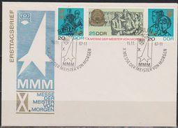 DDR 1967  MiNr.1320 - 1322  FDC Messe Der Meister Von Morgen (d 2076 ) Günstige Verandkosten - DDR