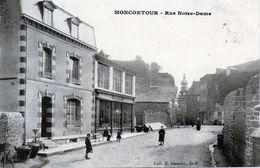 22 - COTES D'ARMOR - MONTCONTOUR - Rue Notre Dame - Très Bon état - Moncontour