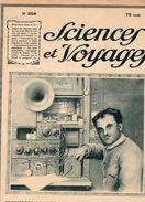 Revue - SCIENCES Et VOYAGES - Année 1924 - N° 258 - En Couv. TSF CONSTRUIT PAR UN LECTEUR DE SCI. Et VOY. - Sciences