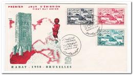 Marokko 1958, World Exhibition Brussels - Marruecos (1956-...)