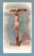 SS. CROCIFISSO - E -  CROMOLITOGRAFIA - Mm. 69 X 124 - ABBADIA SOPRA ADDA - CONFRATERNITA SS. SACRAMENTO - Religion & Esotérisme