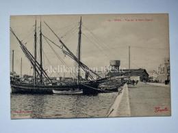 FRANCIA FRANCE Colonie TUNISIA SFAX Petit Chenal Old Postcard - Tunisia