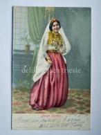 SERBIA Srbija Србија JUNGE SERBIN Donna AK Old Postcard - Serbia