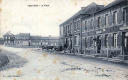 (59) Prisghes - Prisches -  La Place - Coiffeur Et Boutique Godin - France