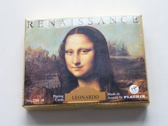 RENAISSANCE Leonardo / Speelkaarten / Playing Cards / Compleet In Verpakking PLATNIK N° 2284 ( Zie Foto's ) ! - Playing Cards (classic)