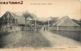 ABIDJAN ENTREE DU CAMP GALLIENI COTE D'IVOIRE AFRIQUE - Côte-d'Ivoire