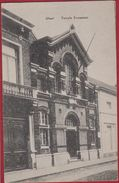 Geel Gheel Rue Temple Protestant 1920 (In Zeer Goede Staat) - Geel