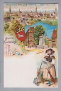 Motiv Schokolade Chocolat Suchard Litho AK Braunschweig Chocolat Suchard-Werbung Ungebraucht - Alimentation