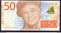 Sweden 50 Kronor ND (2015) UNC P-70 - Suède
