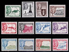 British Virgin Islands 1952 MNH Set SG 136/147 Cat £50 - British Virgin Islands