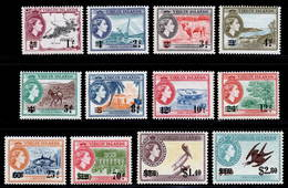 British Virgin Islands 1962 MNH Set SG 162/173 Cat £25 - Britse Maagdeneilanden