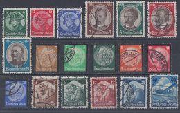 DR Lot 2 Marken Aus1933-1945 Gestempelt Ansehen !!!!!!!!! - Briefmarken