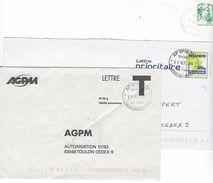 3 Enveloppes Oblitérées AP SPID (période Ciappa) - Marcophilie (Lettres)